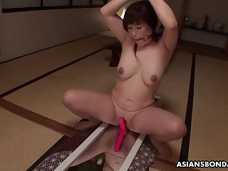 reiko shimura is a horny plumper who got tied forth