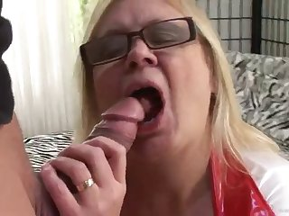 a hard fuck for a mature in a nurse uniform