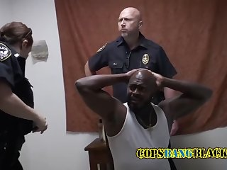 horny black daddy caught masturbating gets arrested