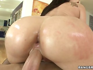 anal battle-axe sheena ryder lets him ram his chunky rod hither say no to tight anal space